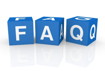frequently asked questions at CNFdesigns - custom website designs