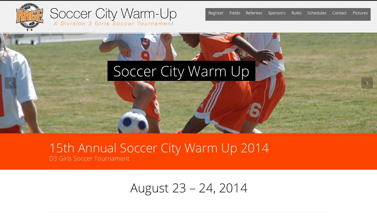 Soccer City Warm-Up