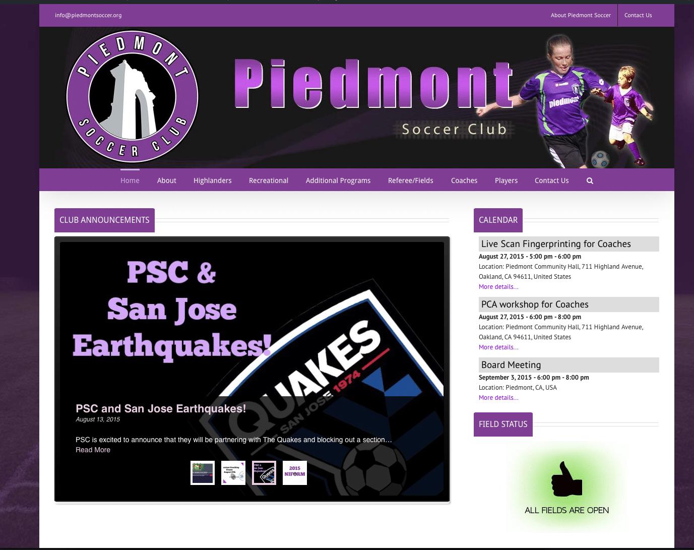 Piedmont Soccer Club