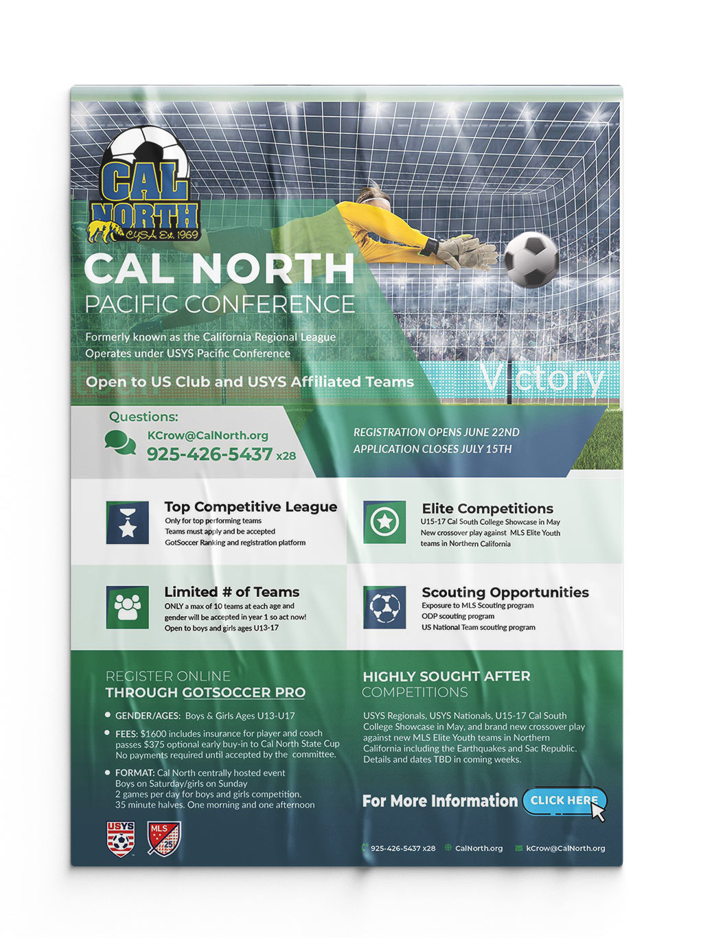 Marketing Poster – Cal North