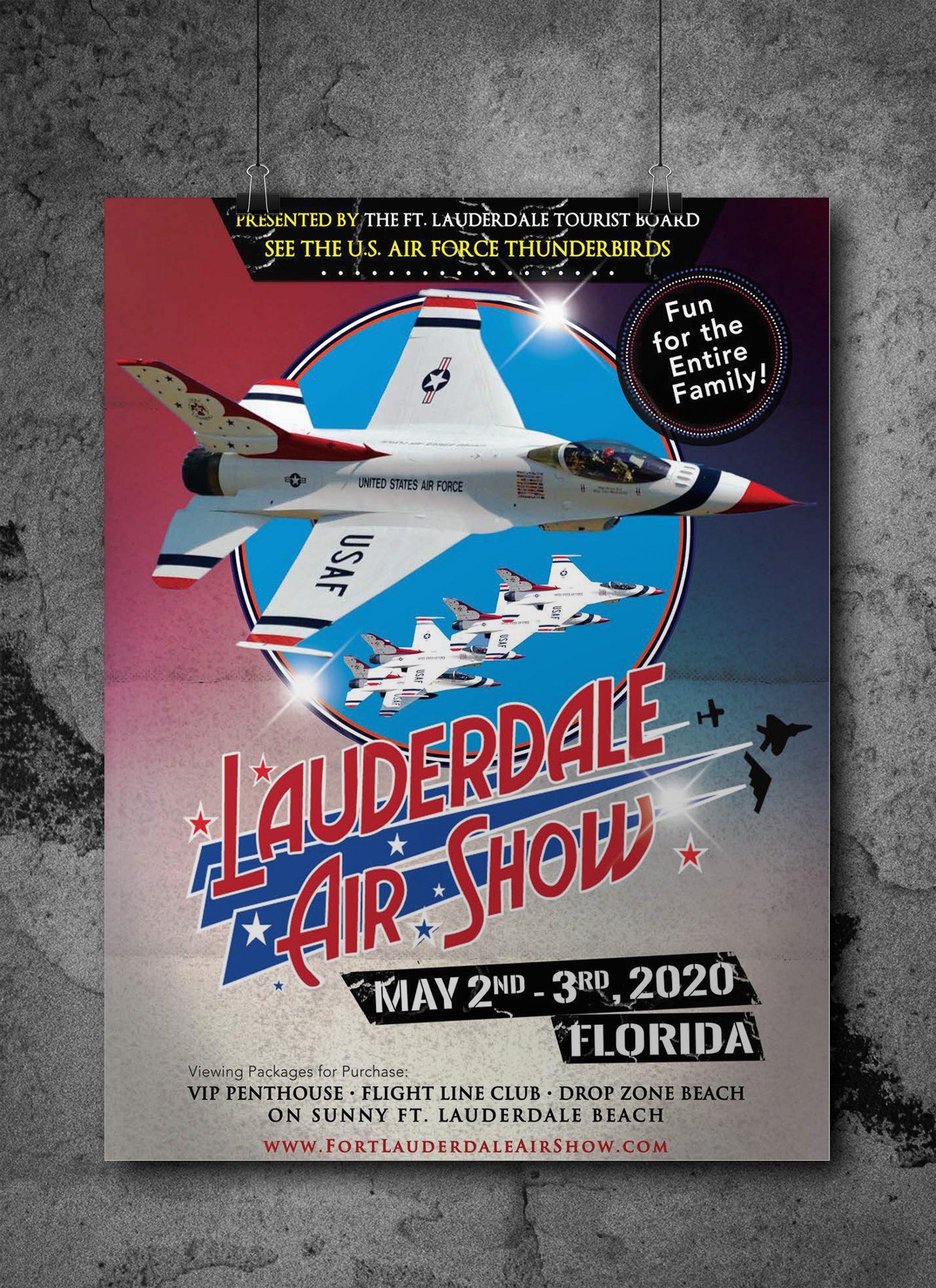 Air Show Marketing Piece