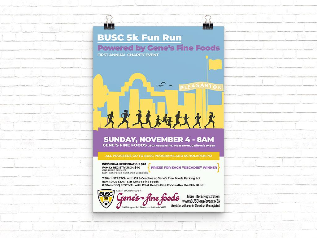 5k Fun Run Poster